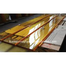 decorative glass slab