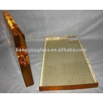 champagne decorative glass block