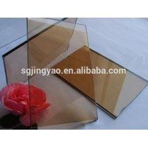 bronze sheet glass