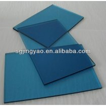 blue sheet glass