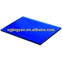dark blue grinded sheet glass