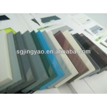 colored sheet glass with beveled edge#