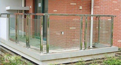 balcony glass 10.38 tempered laminated glass