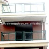 balcony safety glass