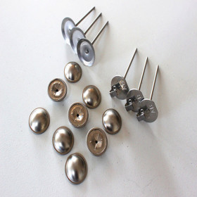 insulation jacket Lacing hooks&Quiting pins sets