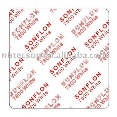 Structured PTFE Gasket Sheet Sonflon 7800 White