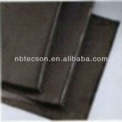 Carbon fiber warp knitted fabric
