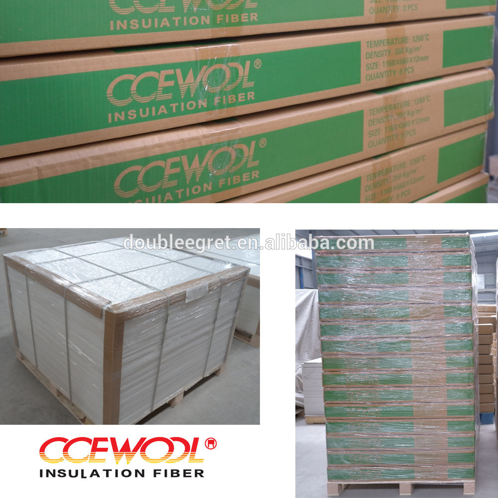 CCEWOOL 1260 heat resistant fireplace ceramic board for furnace ...