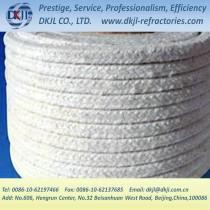 square ceramic fiber rope for stove insulation