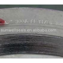 Titanium Spiral Wound Gaskets,Ti2,sunwell have raw materials
