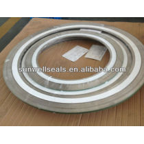 SWG,PTFE Spiral wound gaskets/304PTFE,316LPTFE