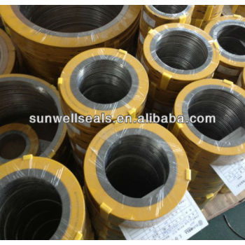 Spiral wound gaskets in PIPE and FLANGE
