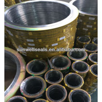 SS304FG Spiral wound gaskets with outer ring