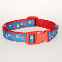 Personalized polyester dog collar