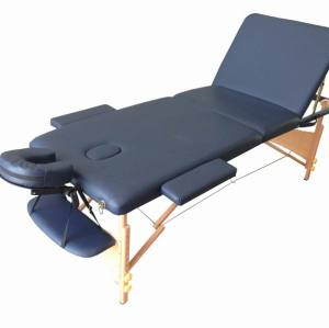 M012A    Wood portable massage bed