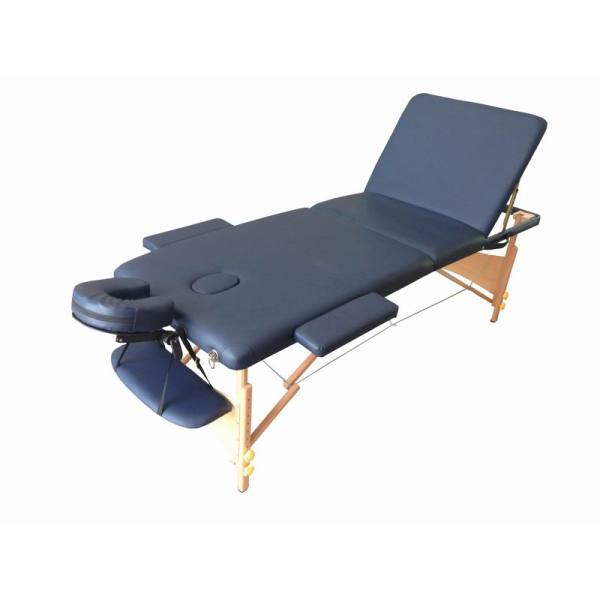 Wood portable massage bed