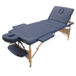 Wood  massage table