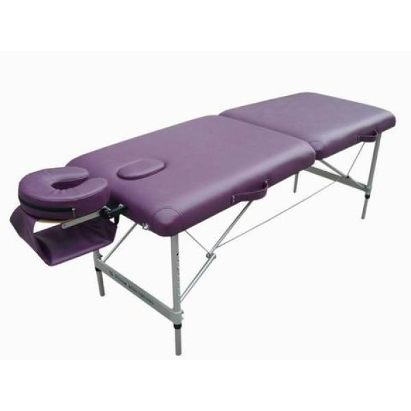 Aluminum portable massage table