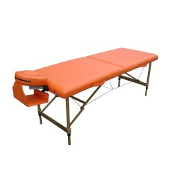 AT005    Hot Beauty Aluminum Portalbe Folding Adjustable Massage Table Massage Bed
