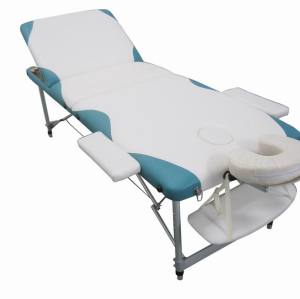 AT015     Mix colour Aluminium portable massage table facial beds