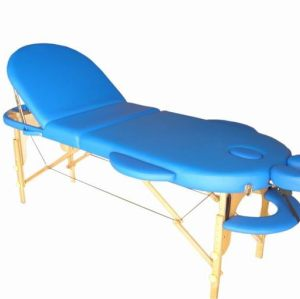 M018     Wood portable massage table