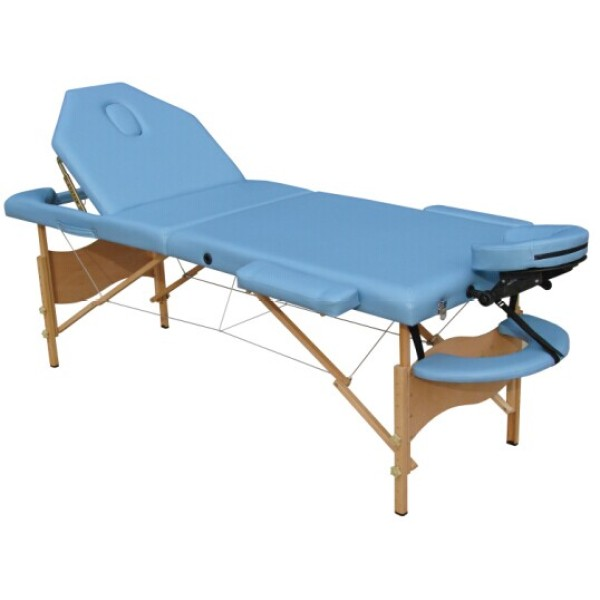 康路牌H-ROOT 实木收折按摩床美容床