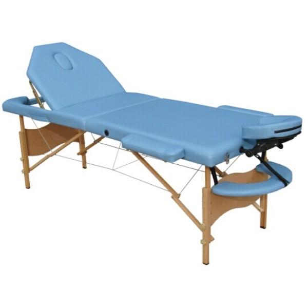 Wood portable massage table