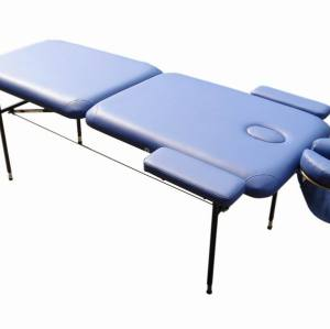 T004    Metal portable massage table