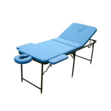 Metal portable massage table