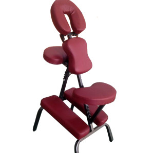 Y012    Portable metal  massage chair