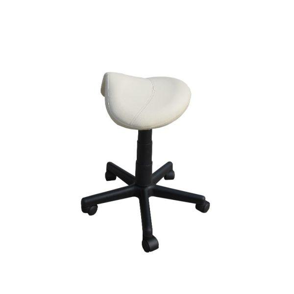 Saddle massage stool