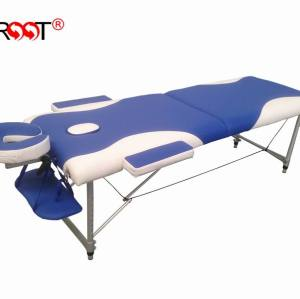 H-ROOT Mix colour Aluminium portable massage table facial beds