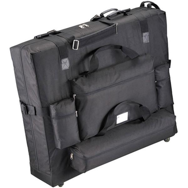 Alta bolsa de transporte Rueda de calidad para mesa de masaje
