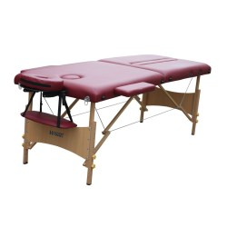 BG03  Portable Cupping Therapy  table in solid wood