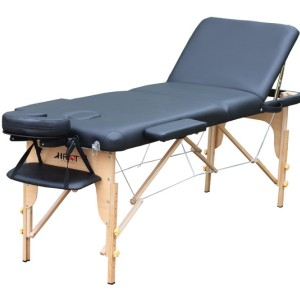 M012S  three section wood massage tables