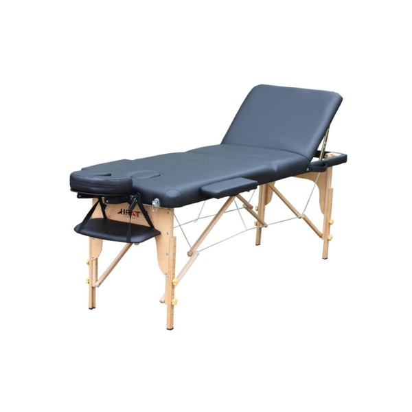 实木收折靠背按摩床