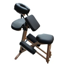 Y004  H-ROOT luxurious Design Wood portable Massage Chair with High Quality