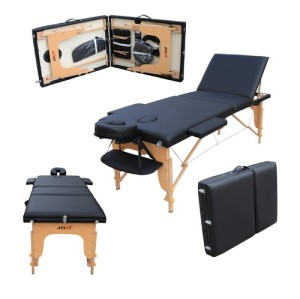 M012R WOOD PORTABLE MASSAGE TABLE
