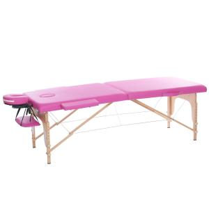 AH01R Wood portable massage table