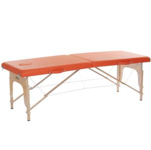 AH01N Wood portable massage table