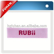 Directly factory custom high definition woven label
