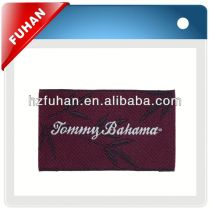 Supply 2013 newest fashionable and the most preferential prices polo-shirt woven label