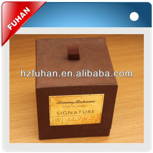 hot sale customized attractive fashion window packing box