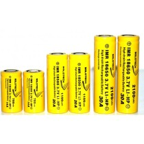 Solotech 18500 1100mAh (Flat Top) 3.7v IMR Lithium Battery