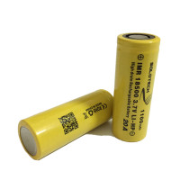 rechargeable batteries Solotech 18500 1100mAh  IMR 20Amps battery
