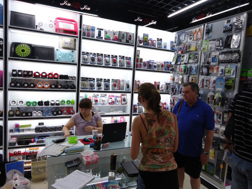 Yiwu and Guangzhou Electronic Products Market Visit