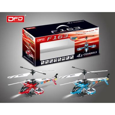F163 Hot Sale Two Color 4.5 channel Remote Control Electric Toy Helicopter