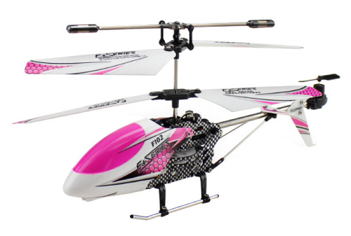 F102 Top Sale Three Color 3.5 channel Remote Control Electric Toy Helicopter