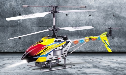 F162 Popular Two Color 2.4G 4 channel Remote Control Electric Toy Helicopter