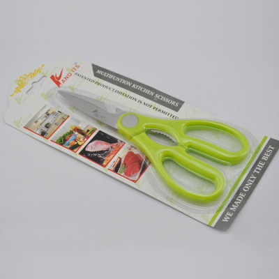 Wholesale A9029 Hight Quality  7.75'' PP Handle Stainless steel kitchen Scissor